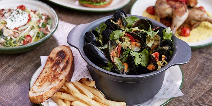 Mussel, FRITIES Belgium on Tap, Central, Hong Kong