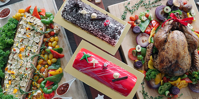 Festive Buffet Spread from Saltwater Cafe in Changi Village Hotel in Changi, Singapore