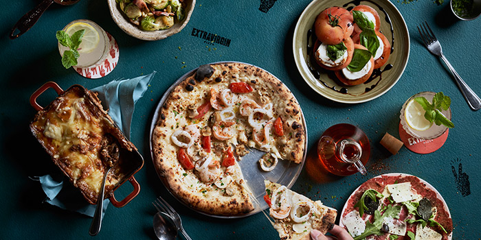 EXTRA VIRGIN PIZZA (ASIA SQUARE) | CHOPE