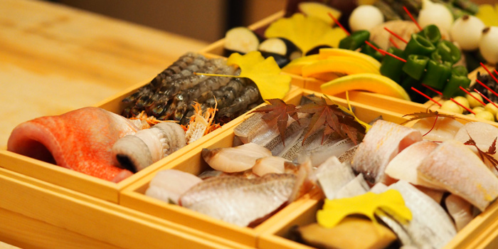 Fresh Ingredient from Ginza Tenharu at Gaysorn Village, 3rd floor 999 Phloen Chit Rd Lumphini, Pathum Wan Bangkok
