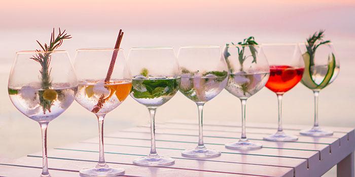 Drinks from El Kabron Spanish Restaurant & Cliff Club in Jimbaran, Bali