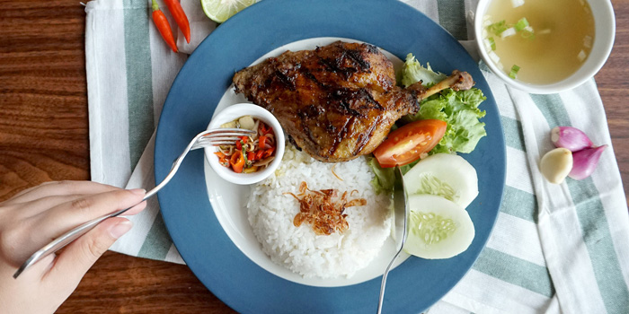 Grilled Duck at Meat Me, Kemang