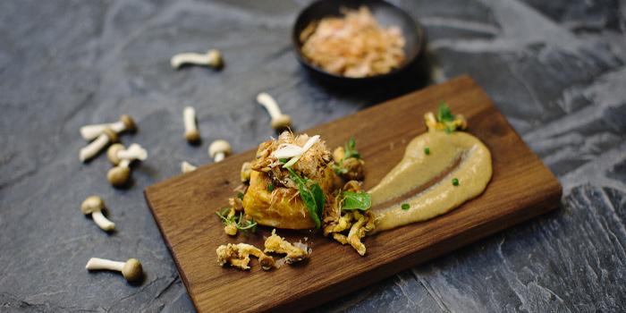 Home-made Tofu Foie Gras Sauce from Mellow Restaurant & Bar at Penny