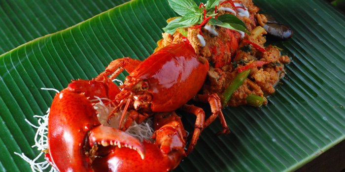 Hor Mok Lobster from MahaNaga at 2 Sukhumvit, Soi 29 Klong Toey Neu, Wattana Bangkok