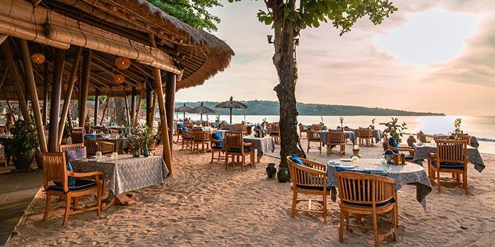 Exterior from Nelayan Restaurant & Puri Bar, Jimbaran, Bali