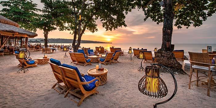 Nelayan Restaurant and Puri Bar (Belmond Jimbaran Puri Bali)