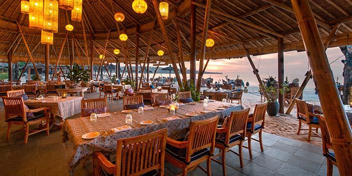 Interior from Nelayan Restaurant & Puri Bar, Jimbaran, Bali