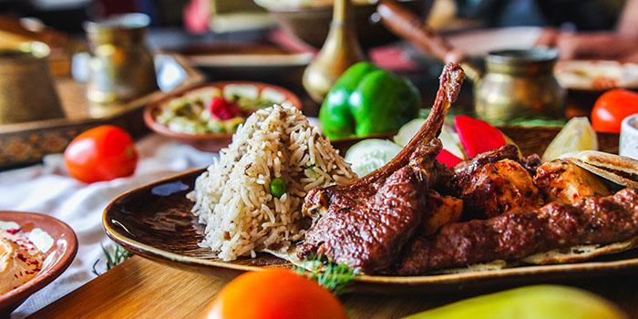 Dish from Al Nafoura Jakarta