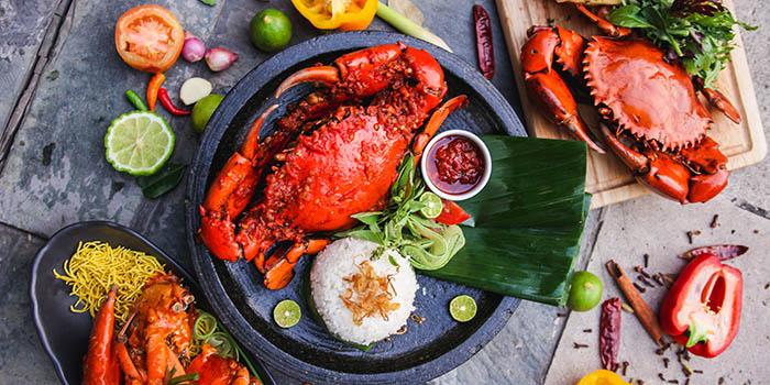 Crab Menu at La Brasserie Jakarta