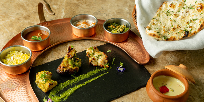Indus Lunch Set from Indus Contemporary Indian Dining in Upper Sukhumvit, Bangkok