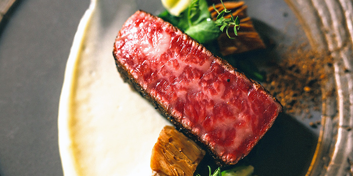 Wagyu Steak from Caffé B at Club Street, Singapore