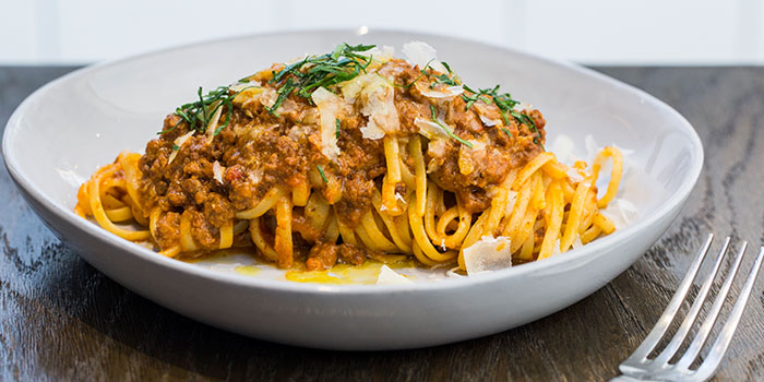Linguine Bolognaise, Feather & Bone (Mid-Levels), Mid Levels, Hong Kong