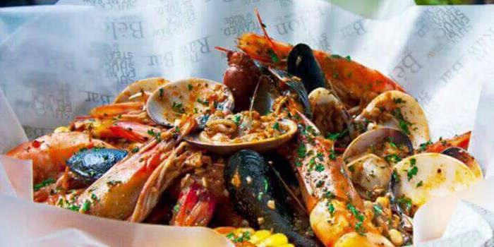 Louisiana Style Seafood from The Raw Bar at 494, The Erawan Bangkok Ploenchit Road, Pathumwan Bangkok