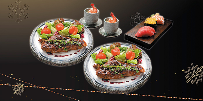 Festive Feast (7 Nov to 6 Jan) from Shin Kushiya at VivoCity in Harbourfront, Singapore