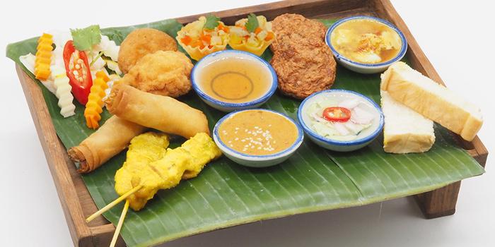 Mixed Appetizers from By Bua Silom at 60, 1 Silom Rd Suriya Wong, Khet Bang Rak Bangkok