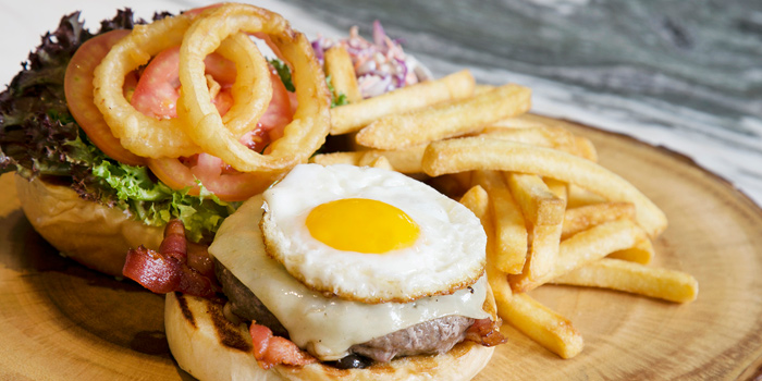 Mondo Beef Burger from Mondo at Hilton Hotel Sukhumvit Bangkok 11 Sukhumvit Soi 24 Bangkok