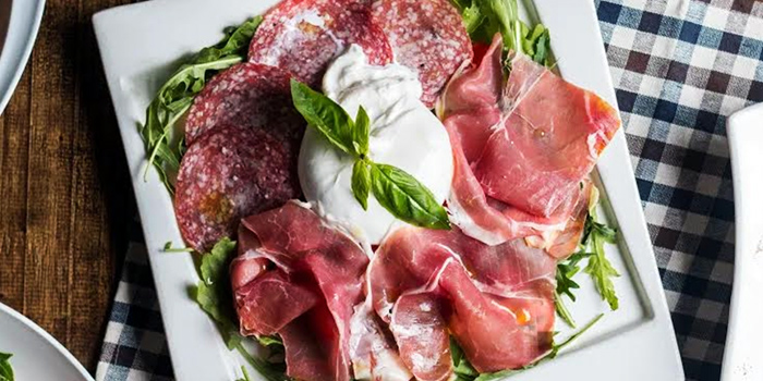 Cold Cut Mozzarella from Mondo Mio Italian Restaurant & Bar in Robertson Quay, Singapore