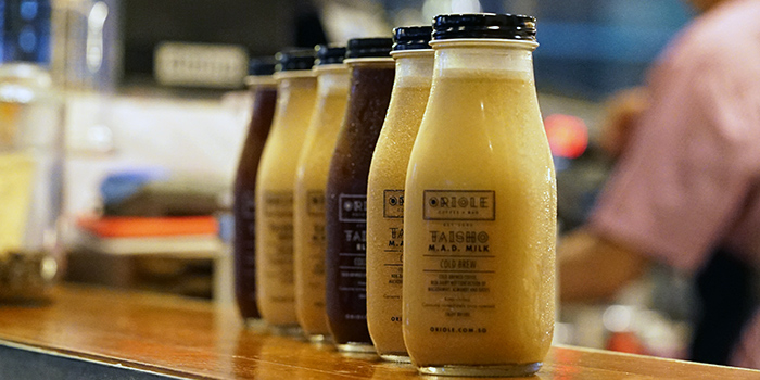 Cold Brew Coffee from Oriole Coffee + Bar at Pan Pacific Serviced Suites in Orchard, Singapore
