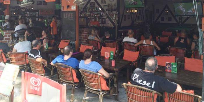 Outdoor of The Tavern in Kata, Phuket, Thailand