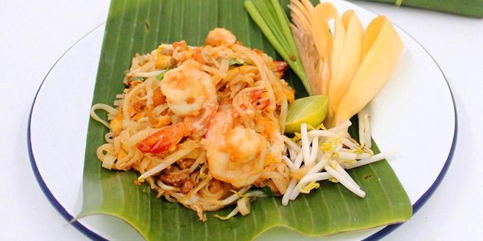Padthai Shrimp from By Bua Silom at 60, 1 Silom Rd Suriya Wong, Khet Bang Rak Bangkok