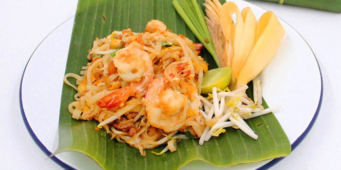 Padthai Shrimp from By Bua Lasalle at Lasalle