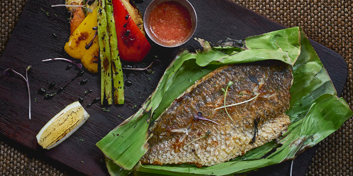 Pan roasted Sea Bass from Mellow Restaurant & Bar at Penny