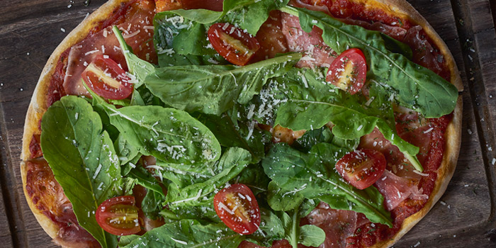 Pizza Prosciutto Rocket from Mellow Restaurant & Bar at Penny