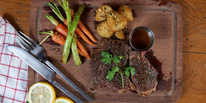 Ribeye Steak from Mellow Restaurant & Bar at Penny