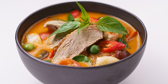 Roasted Duck Red Curry from By Bua Silom at 60, 1 Silom Rd Suriya Wong, Khet Bang Rak Bangkok