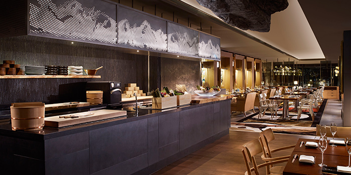 Interior of Akira Back in JW Marriott Hotel Singapore South Beach in City Hall, Singapore
