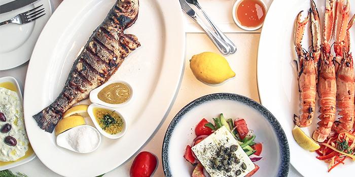 Food Spread from Alati Divine Greek Cuisine in Tanjong Pagar, Singapore