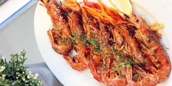 Grilled Garides from Alati Divine Greek Cuisine in Tanjong Pagar, Singapore