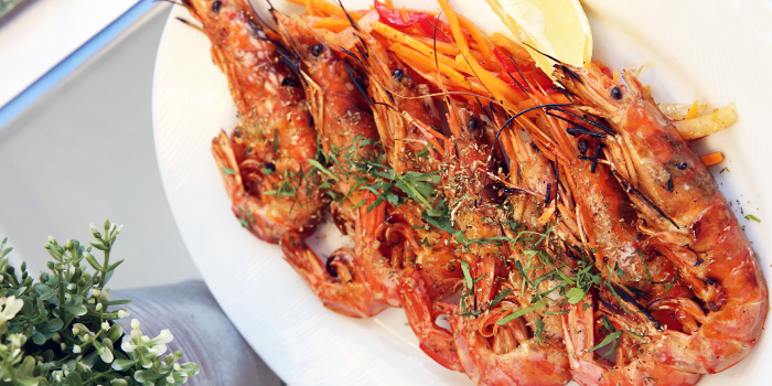 Grilled Garides from Alati Divine Greek Cuisine in Tanjong Pagar, Singapore