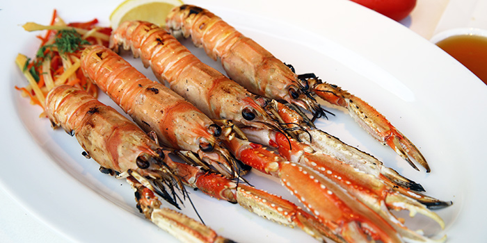 Grilled Langoustines from Alati Divine Greek Cuisine in Tanjong Pagar, Singapore