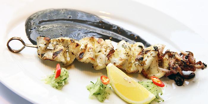 Kalamari Souvlaki from Alati Divine Greek Cuisine in Tanjong Pagar, Singapore