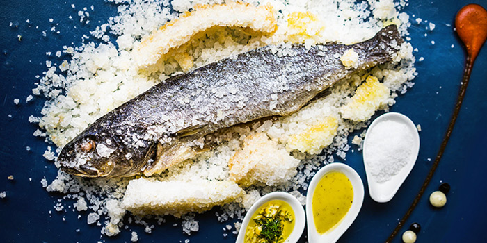 Salt-Baked Fish from Alati Divine Greek Cuisine in Tanjong Pagar, Singapore