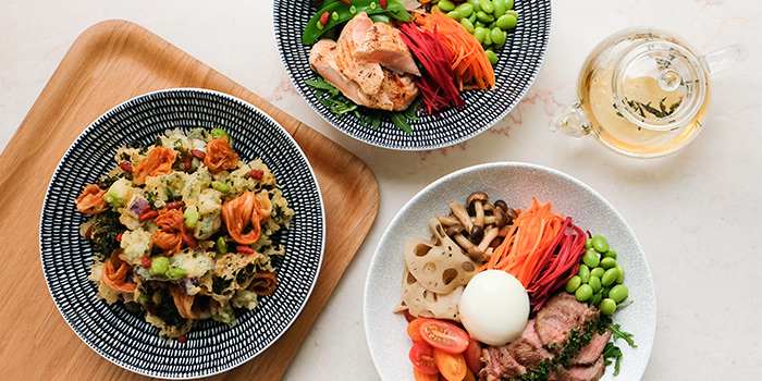Food Spread from Clan Cafe at Outram, Singapore