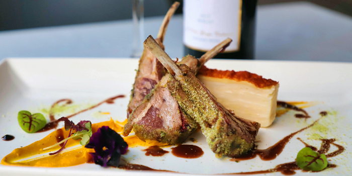 Rack of Lambs from Cosmos Restaurant & Wine Bar from Forum The Shopping Mall in Orchard, Singapore