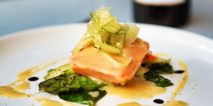Sous Vide Salmon from Cosmos Restaurant & Wine Bar from Forum The Shopping Mall in Orchard, Singapore