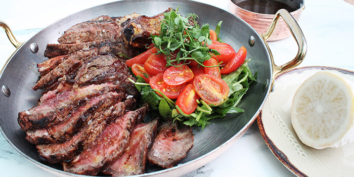 Josper Grill Bone-in Ribeye from Grissini at Grand Copthorne Waterfront Hotel in Robertson Quay, Singapore