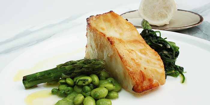 Josper Grill Cod Fish from Grissini at Grand Copthorne Waterfront Hotel in Robertson Quay, Singapore