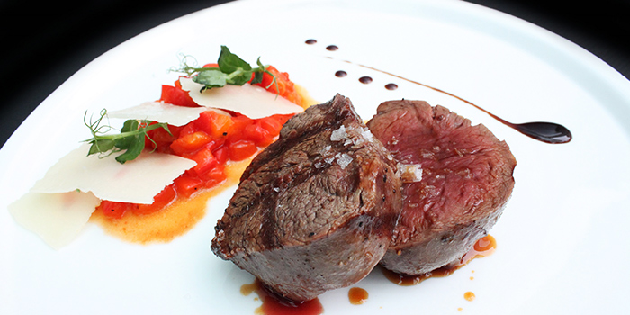 Josper Grill Tenderloin from Grissini at Grand Copthorne Waterfront Hotel in Robertson Quay, Singapore