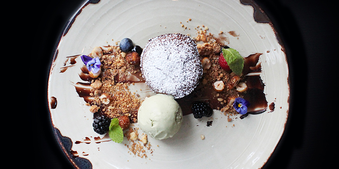 Sea Salt & Coffee Cake from Grissini at Grand Copthorne Waterfront Hotel in Robertson Quay, Singapore