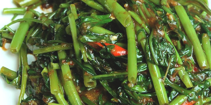 Sambal Kangkong from Jiak Modern Tzechar (Esplanade) in The Esplanade, Singapore