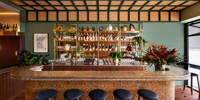 Bar of Le Bon Funk in Club Street, Singapore