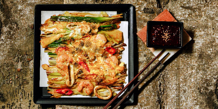 Dong Nae Seafood Pancake from PUJIM BBQ in Telor Ayer, Singapore