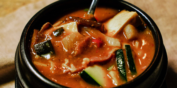 Soybean Stew from PUJIM BBQ in Telor Ayer, Singapore