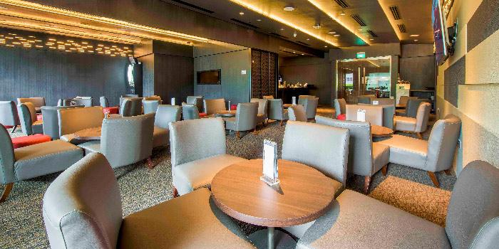 Interior of Revel Bistro & Bar at Marina Square in City Hall, Singapore