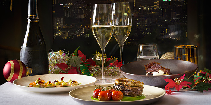 Festive Set Menu from Salt Grill & Sky Bar at Ion Orchard, Singapore