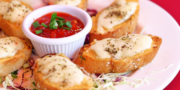 Garlic Bread from Shivam Restaurant in Little India, Singapore